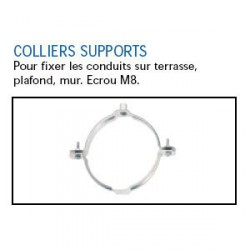 COLLIER DE SUSPENSION Ø 355mm GALVANISE TUBE HOTTE