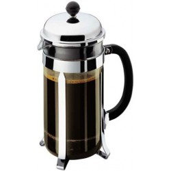 CAFETIERE BODUM CHAMBORD   3 TASSES 35cl CHROME