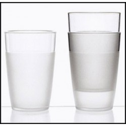 VERRE EN POLYCARBONATE TRANSPARENT INCASSABLE 25cl