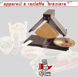 APPAREIL A RACLETTE BR0N-COUCKE BREZIERE 2 RAMPES