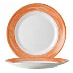 ASSIETTE A PAIN ARCOROC BRUSH ORANGE 15,5 cm
