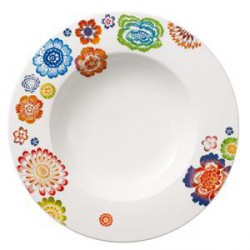 ASSIETTE CREUSE VILLEROY ANMUT BLOOM Ø 24cm