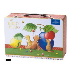 VALISETTE EN METAL VILLEROY KIDDY BEARS SET BEBE 3