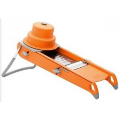 MANDOLINE DE BUYER SWING ORANGE AVEC POUSSOIR