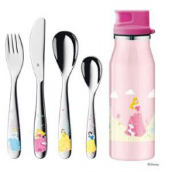 SET ENFANTS WMF DISNEY PRINCESSES 5 PIECES