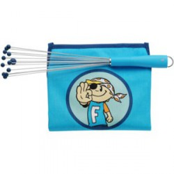 SET DE CUISINE ENFANTS WMF PIRATE 2 PIECES BLEUES*