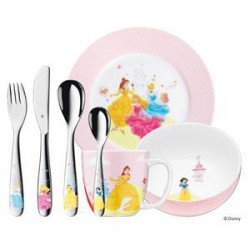 SET ENFANTS WMF DISNEY PRINCESSES 7 PIECES