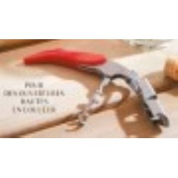 SOMMELIER SCREWPULL WT130 DOUBLE LEVIER ROUGE