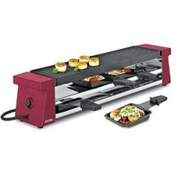 APPAREIL A RACLETTE SPRING 4 COMPACT ROUGE