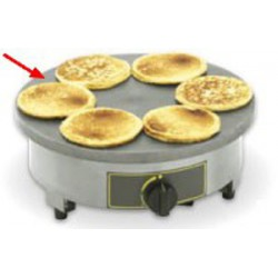 PLAQUE A BLINIS ROLLER GRILL CREPIERE FORAINE 400m