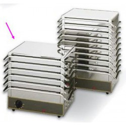 CHAUFFE-PLAT ROLLER GRILL DW106 PLAQUES 650W 230V