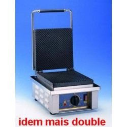 GAUFRIER ELECTRIQUE ROLLER GRILL 2x CORNET GED40