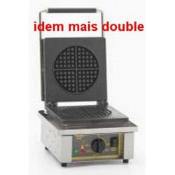 GAUFRIER ELECTRIQUE ROLLER GRILL 2x ROND GED70