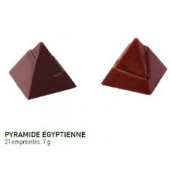 MOULE A CHOCOLAT PYRAMIDE EGYPTIENNE 27x27x13mm 21