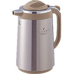 THERMOS TIGER 1,3L INOX SATIN / BRUN