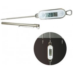 THERMOMETRE DIGITAL TACTILE INOX ETANCHE -50/+300°