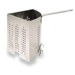 CUIT-PATES BOURGEAT TRIANGULAIRE INOX 2,8L H:18cm