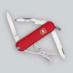 CANIF VICTORINOX 58mm ROUGE 10F. RAMBLER     06363