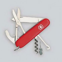 CANIF VICTORINOX OFFICIER 91mm 14F. COMPACT RED