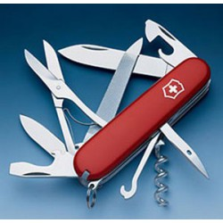 CANIF VICTORINOX OFFICIER 91mm 18F MOUNTAINEER RED