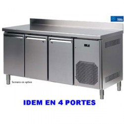 TABLE REFRIGEREE AFI KANSAS 600 ADOSSEE 4 PORTES
