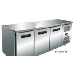 TABLE REFRIGEREE AFI TCP3P7AL INOX/ALU 3P 70x180