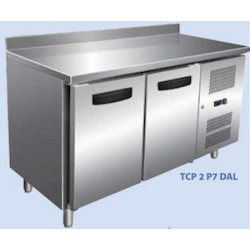 TABLE REFRIGEREE AFI TCP2P7DAL INOX/ALU 2P L136 DO
