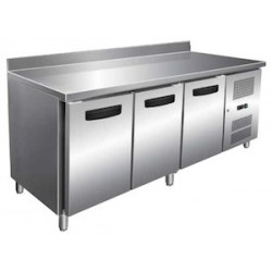TABLE REFRIGEREE AFI TCP3P7DAL INOX/ALU 3P L180 DO