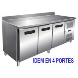 TABLE REFRIGEREE AFI TCP4P7DAL INOX/ALU 4P L223 DO